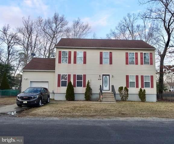 419 California Trail, BROWNS MILLS, NJ 08015 (MLS #NJBL369438) :: The Dekanski Home Selling Team