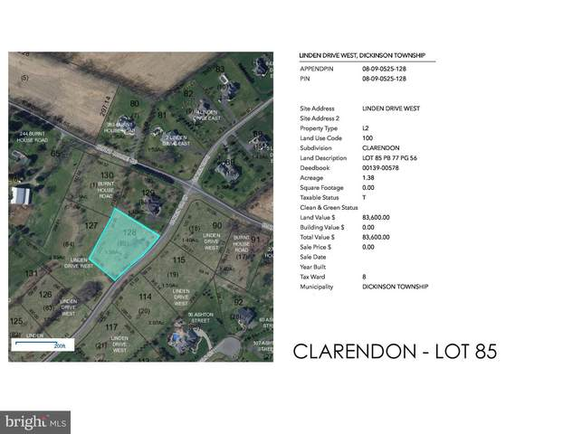 Clarendon - Linden Drive W Lot 85, CARLISLE, PA 17015 (#PACB122530) :: The Joy Daniels Real Estate Group