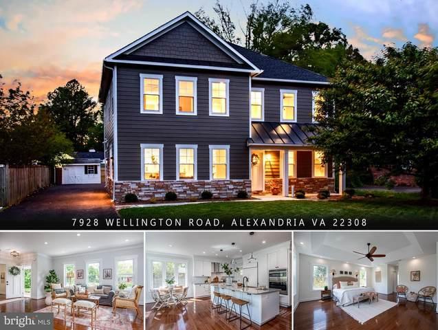 7928 Wellington Road, ALEXANDRIA, VA 22308 (#VAFX1119862) :: The Miller Team