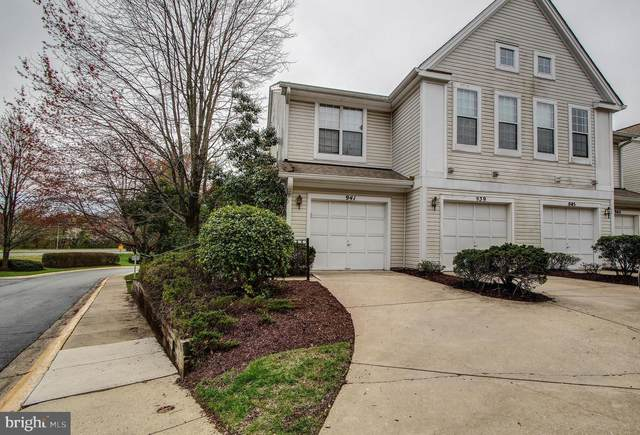 941 Hillside Lake Terrace #703, GAITHERSBURG, MD 20878 (#MDMC701840) :: Revol Real Estate