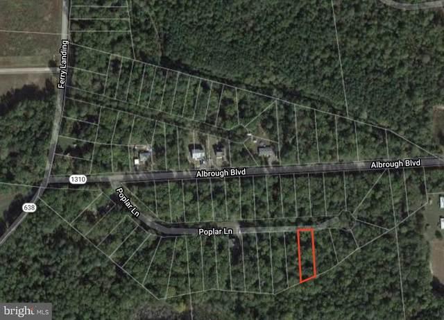 LOT 17 - Poplar Lane, COLONIAL BEACH, VA 22443 (#VAWE116228) :: Arlington Realty, Inc.