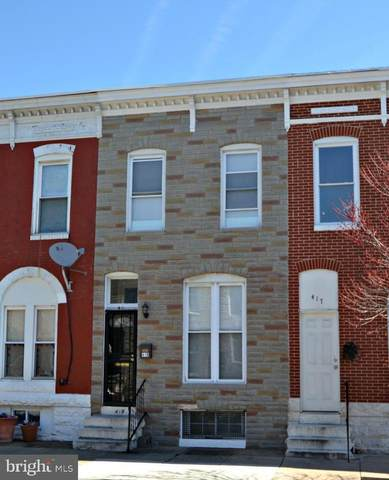 419 N Patterson Park Avenue, BALTIMORE, MD 21231 (#MDBA506056) :: The Dailey Group