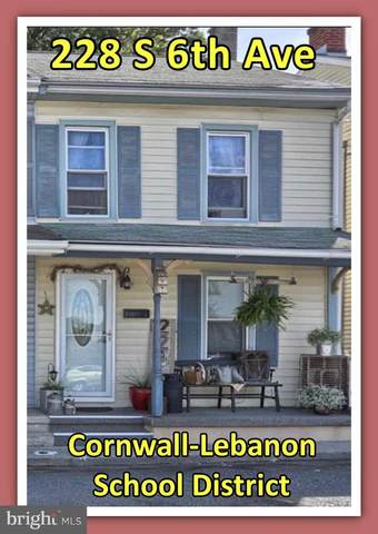 228 S 6TH Avenue, LEBANON, PA 17042 (#PALN113402) :: Iron Valley Real Estate