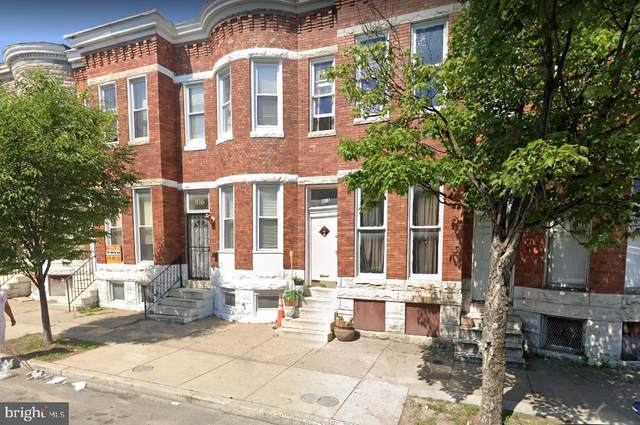 816 N Monroe, BALTIMORE, MD 21217 (#MDBA506116) :: City Smart Living