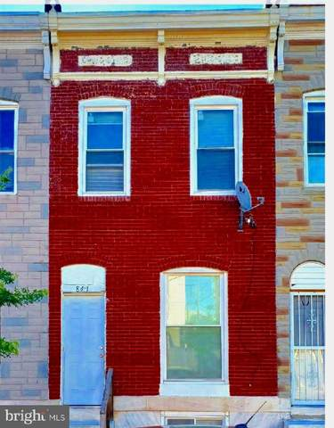 841 N Montford Avenue, BALTIMORE, MD 21205 (#MDBA506326) :: The Dailey Group