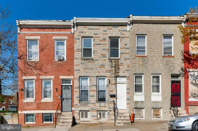 46 S Pulaski Street, BALTIMORE, MD 21223 (#MDBA506704) :: The Putnam Group