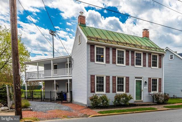 116 S Jefferson Street, FREDERICK, MD 21701 (#MDFR262766) :: Network Realty Group