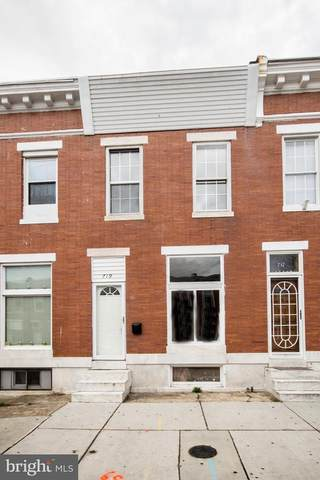 719 N Linwood Avenue, BALTIMORE, MD 21205 (#MDBA507556) :: The MD Home Team