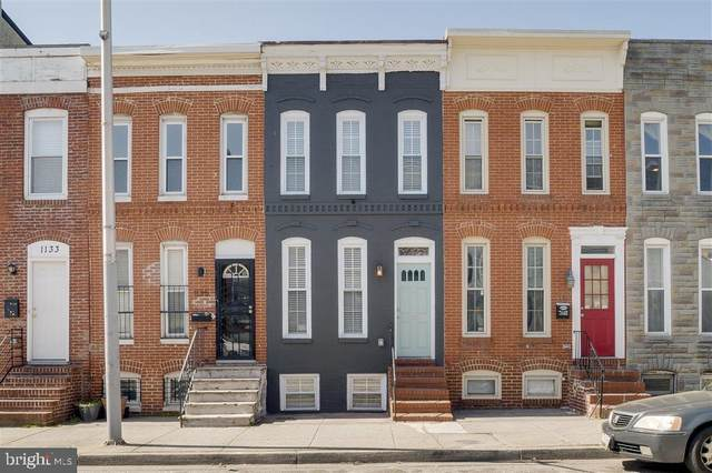 1137 W Cross Street, BALTIMORE, MD 21230 (#MDBA507604) :: Mortensen Team