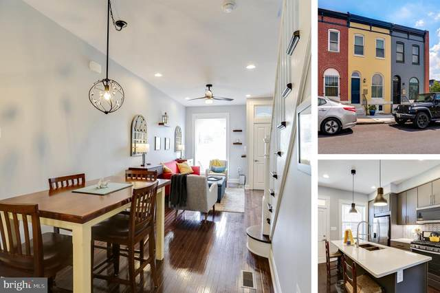 2405 E Eager Street, BALTIMORE, MD 21205 (#MDBA508802) :: The Miller Team