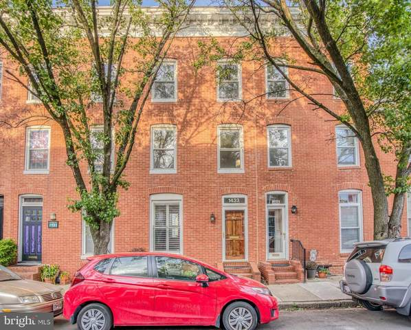 1433 Riverside Avenue, BALTIMORE, MD 21230 (#MDBA509260) :: The Miller Team