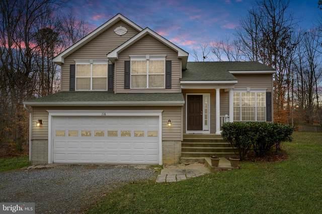 116 Patrick Henry Drive, RUTHER GLEN, VA 22546 (#VACV122172) :: Debbie Dogrul Associates - Long and Foster Real Estate