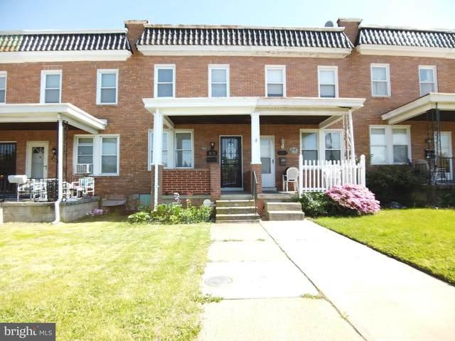 3721 Wilkens Avenue, BALTIMORE, MD 21229 (#MDBA509808) :: Larson Fine Properties