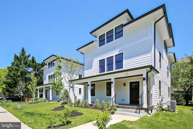 705 N Barton Street, ARLINGTON, VA 22201 (#VAAR162576) :: Jacobs & Co. Real Estate