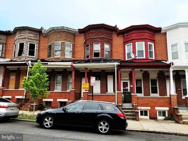 1637 Appleton Street, BALTIMORE, MD 21217 (#MDBA510210) :: Shamrock Realty Group, Inc