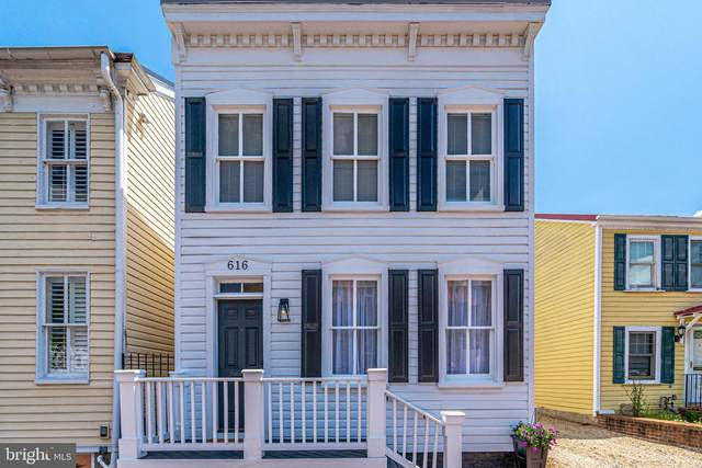 616 S Washington Street, ALEXANDRIA, VA 22314 (#VAAX246304) :: AJ Team Realty