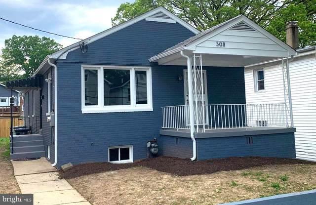 308 57TH Street NE, WASHINGTON, DC 20019 (#DCDC469250) :: Mortensen Team