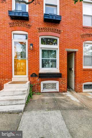 803 S Luzerne Avenue, BALTIMORE, MD 21224 (#MDBA510662) :: The Licata Group/Keller Williams Realty