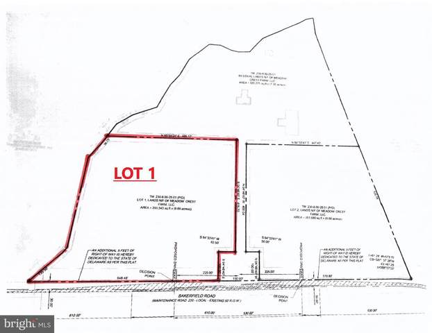 24675 LOT 1 Bakerfield Road, MILFORD, DE 19963 (#DESU161172) :: CoastLine Realty