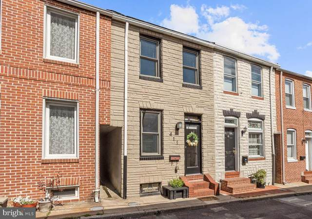 411 S Madeira Street, BALTIMORE, MD 21231 (#MDBA510816) :: Gail Nyman Group
