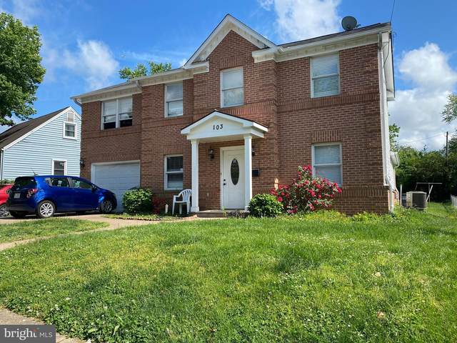 103 Polk Drive, MANASSAS PARK, VA 20111 (#VAMP113932) :: Arlington Realty, Inc.