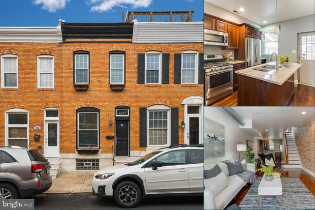 734 S Decker Avenue, BALTIMORE, MD 21224 (#MDBA511210) :: Radiant Home Group