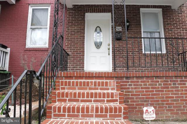 505 Chestnut Hill Avenue, BALTIMORE, MD 21218 (#MDBA511276) :: Erik Hoferer & Associates