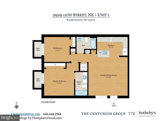 2929 12TH Street NE #101, WASHINGTON, DC 20017 (#DCDC470572) :: Great Falls Great Homes