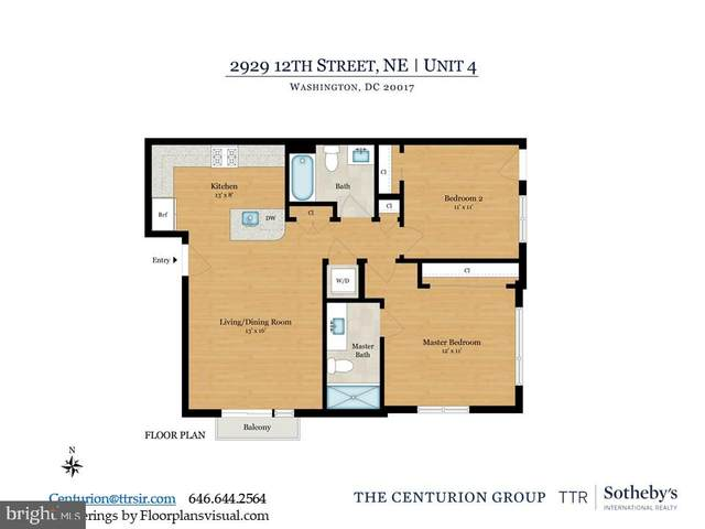 2929 12TH Street NE #202, WASHINGTON, DC 20017 (#DCDC470654) :: Great Falls Great Homes