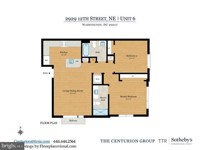 2929 12TH Street NE #302, WASHINGTON, DC 20017 (#DCDC470666) :: LoCoMusings