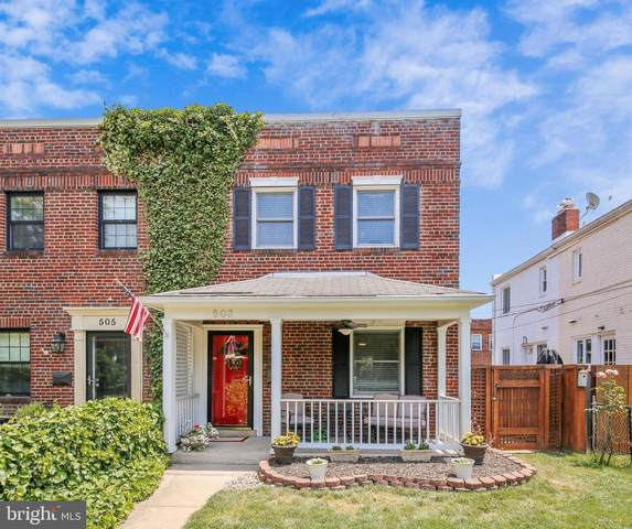 503 N West Street, ALEXANDRIA, VA 22314 (#VAAX246800) :: The Putnam Group