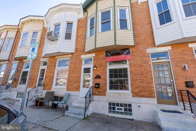 711 S Potomac Street, BALTIMORE, MD 21224 (#MDBA512012) :: SURE Sales Group