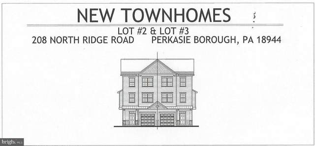 208 Ridge Avenue Lot 2, PERKASIE, PA 18944 (#PABU497808) :: Century 21 Dale Realty Co