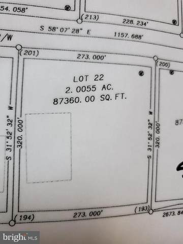 Lot 22 Chalacedony, MARTINSBURG, WV 25404 (#WVBE177514) :: Pearson Smith Realty