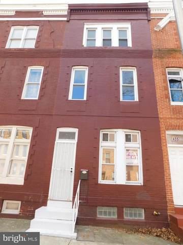437 E Lanvale Street, BALTIMORE, MD 21202 (#MDBA512386) :: LoCoMusings