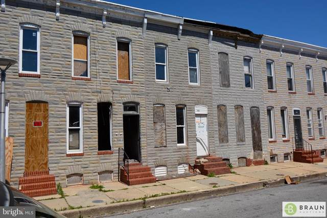 1922 Christian Street, BALTIMORE, MD 21223 (#MDBA512638) :: Advon Group