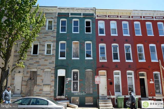 1111 N Carey Street, BALTIMORE, MD 21217 (#MDBA512640) :: AJ Team Realty