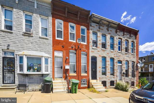 1610 W Franklin Street, BALTIMORE, MD 21223 (#MDBA513062) :: The Miller Team