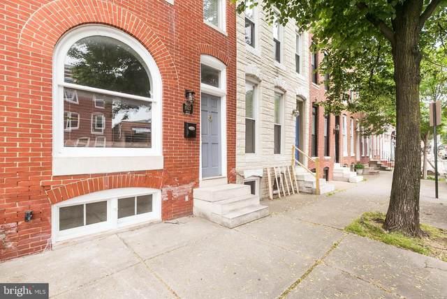1027 S Hanover Street, BALTIMORE, MD 21230 (#MDBA513344) :: The Miller Team