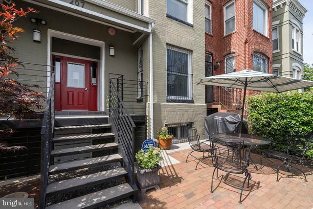 207 R Street NW #1, WASHINGTON, DC 20001 (#DCDC472904) :: Network Realty Group