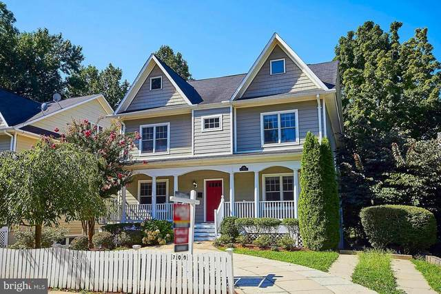 700 E Broad Street, FALLS CHURCH, VA 22046 (#VAFA111302) :: Debbie Dogrul Associates - Long and Foster Real Estate
