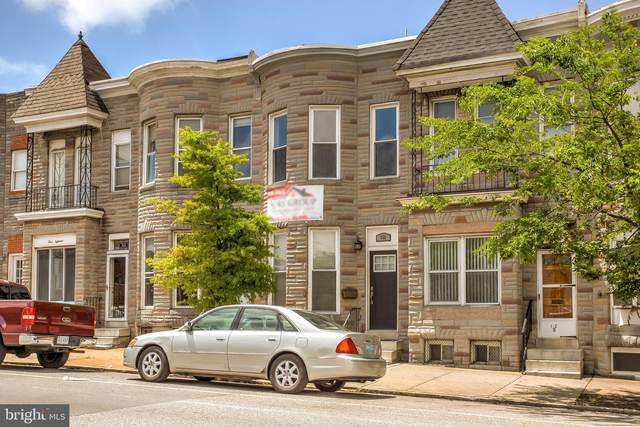 114 S Highland Avenue, BALTIMORE, MD 21224 (#MDBA514162) :: Larson Fine Properties