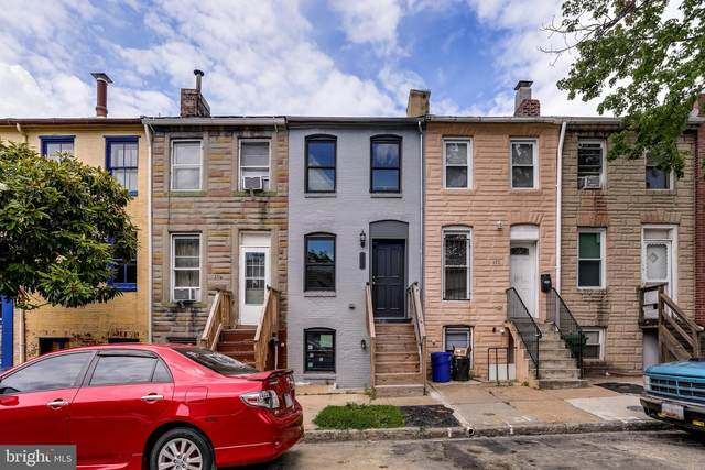 112 S Carrollton Avenue, BALTIMORE, MD 21223 (#MDBA514252) :: Mortensen Team