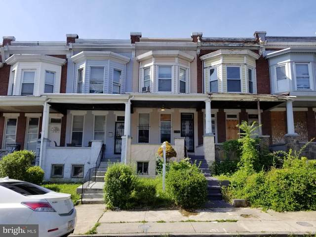 2825 Riggs Avenue, BALTIMORE, MD 21216 (#MDBA514328) :: The Licata Group/Keller Williams Realty