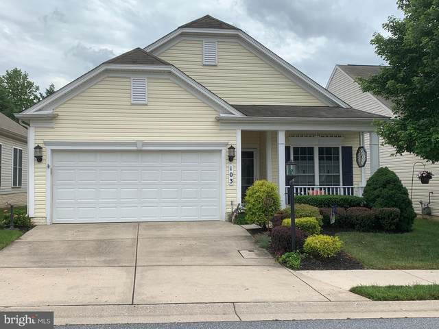 103 Clubside Drive #35, TANEYTOWN, MD 21787 (#MDCR197536) :: The Licata Group/Keller Williams Realty