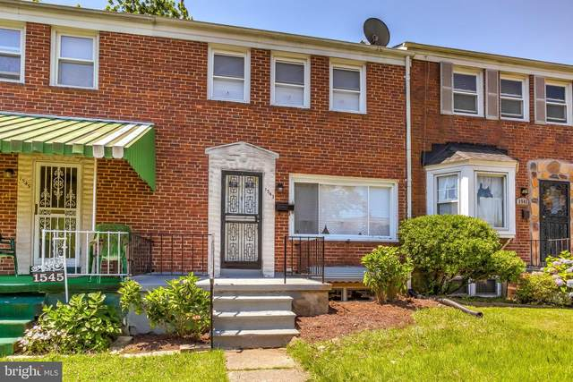 1543 Wadsworth Way, BALTIMORE, MD 21239 (#MDBA514826) :: The Miller Team