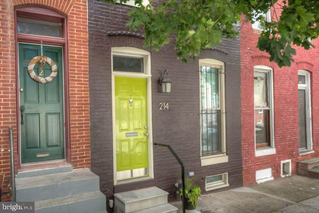 214 N Chester Street, BALTIMORE, MD 21231 (#MDBA515104) :: The MD Home Team