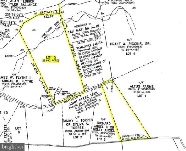 Lot 5 John Deere Trail, SPOTSYLVANIA, VA 22553 (#VASP223086) :: CR of Maryland