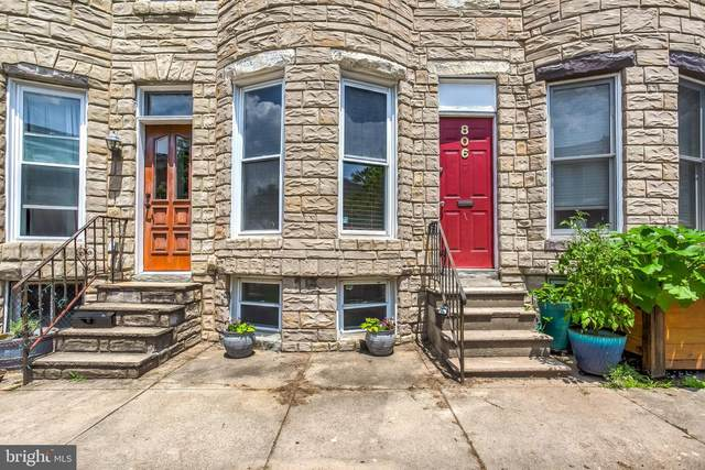 806 Wellington Street, BALTIMORE, MD 21211 (#MDBA515350) :: Larson Fine Properties