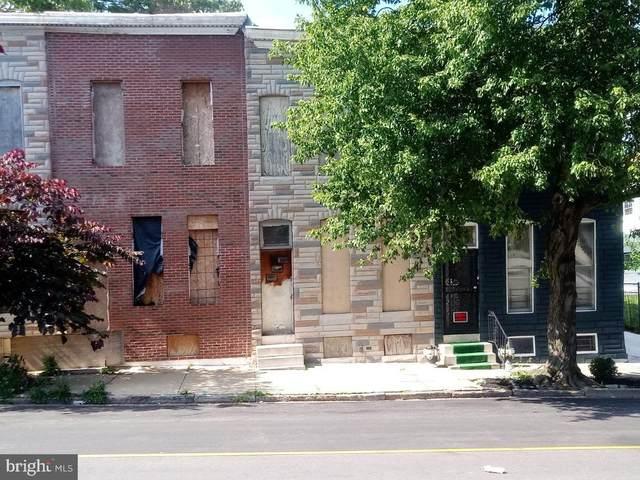 1628 E Oliver Street, BALTIMORE, MD 21213 (#MDBA515482) :: Larson Fine Properties